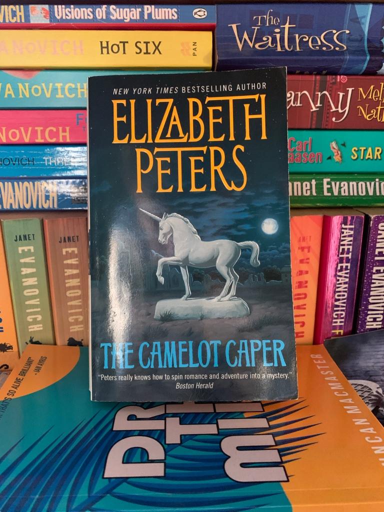 Paperback copy of The Camelot Caper