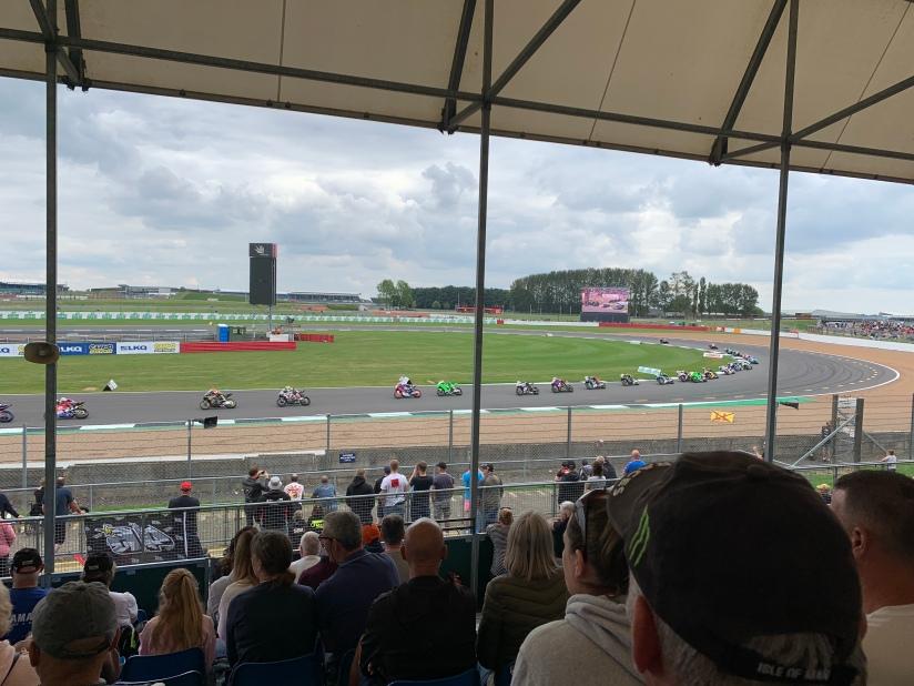 British Superbikes racing