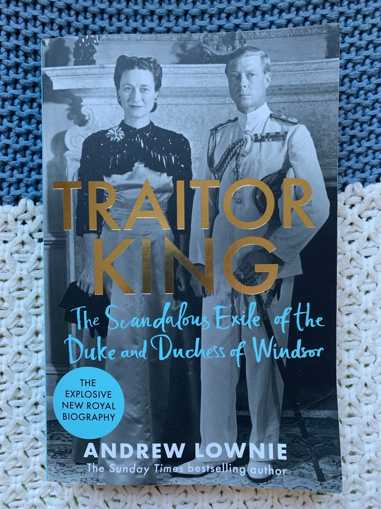 Slightly battered copy of Traitor King - its been to Spain and back as well as to the beach in the beach bag!