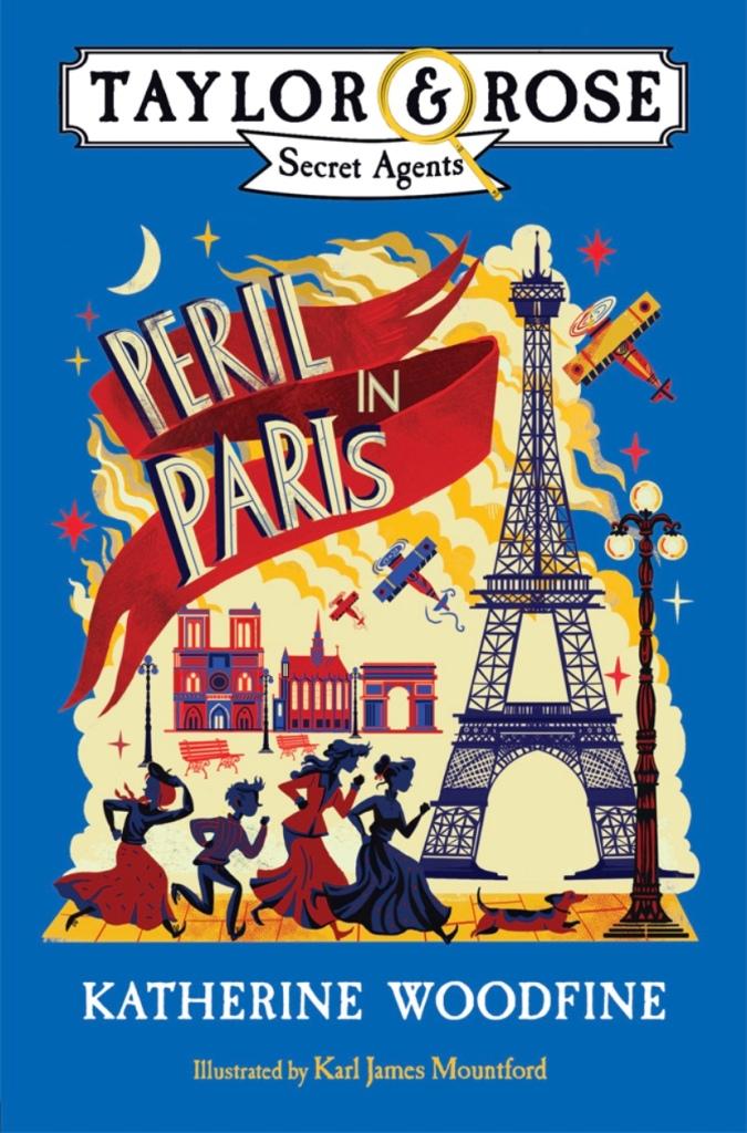Cover of Peril in Paris